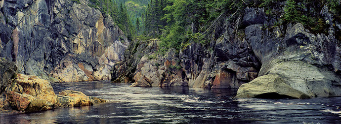 Salmon fishing on the Lower St. Lawrence. James J. Hill fishing Camp.